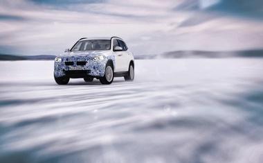 Elektromobilnost v skrajnosti: BMW iX3, BMW i4 in BMW iNEXT v arktičnem krogu