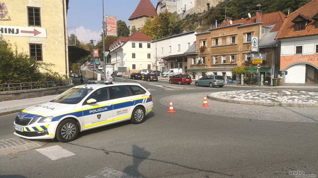 Od danes nova policijska akcija; znan je seznam lokacij kontrol (foto: Jure Šujica)