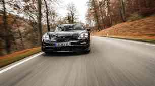 Porsche Taycan v zadnji testni fazi