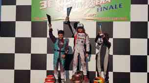 Mladi slovenski kartisti do stopničk v Lonatu; Mark Kastelic pod okrilje moštva Team Driver