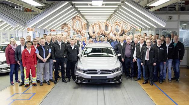 Volkswagen Passat je najbolje prodajan avtomobil srednjega razreda (foto: Volkswagen)