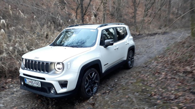 Vseeno je Jeep, gremo na teren (foto: Peter Kavčič)