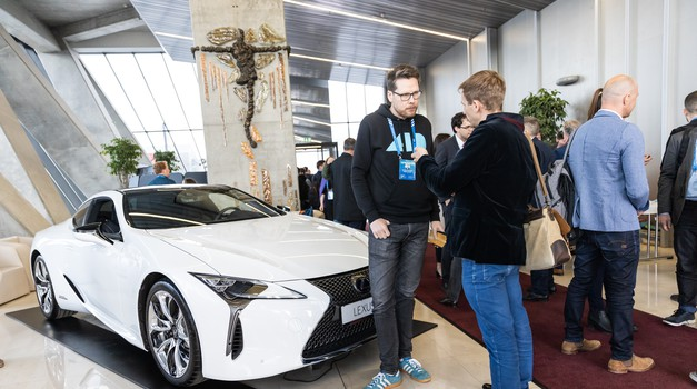 City as a Living Lab 2019: avtonomni avtomobili kot pred desetletjem pametni telefoni (foto: City as a Lab Summit 2019)