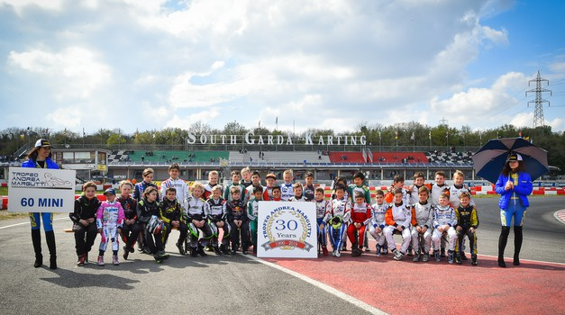 Karting: trije naši med finalisti memoriala Trofeo Andrea Margutti (foto: Team Mark racing)