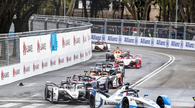 Formula E, VN Rima: premierna zmaga za Evansa in Jaguar (foto: FIA)