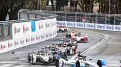 Formula E, VN Rima: premierna zmaga za Evansa in Jaguar