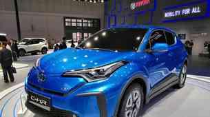 Avto Šanghaj 2019: Električni C-HR kot napovednik električne prihodnosti