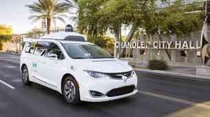Waymo tik pred zagonom proizvodnje avtonomnih vozil