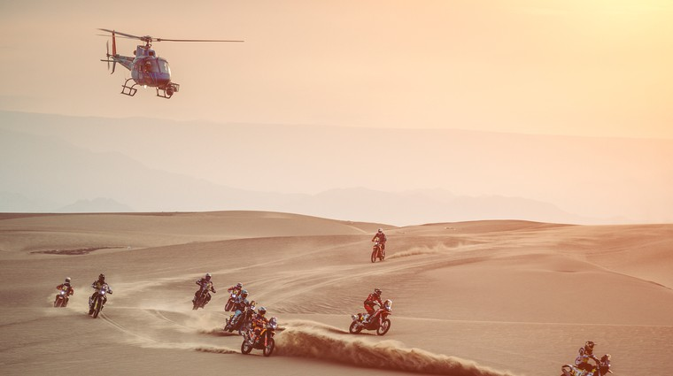 Reli Dakar se seli v Savdsko Arabijo; kaj pa o tem menijo tekmovalci? (foto: Red Bull)