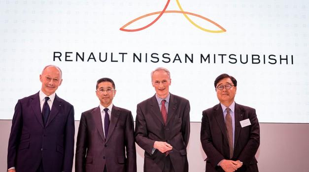 Renault in Nissan tik pred združitvijo (foto: Renault)