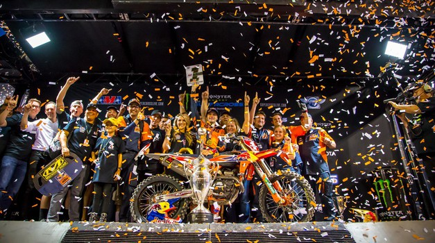 Monster Energy Supercross: Webb je novi svetovni prvak! (video) (foto: Simon Cudby (KTM))