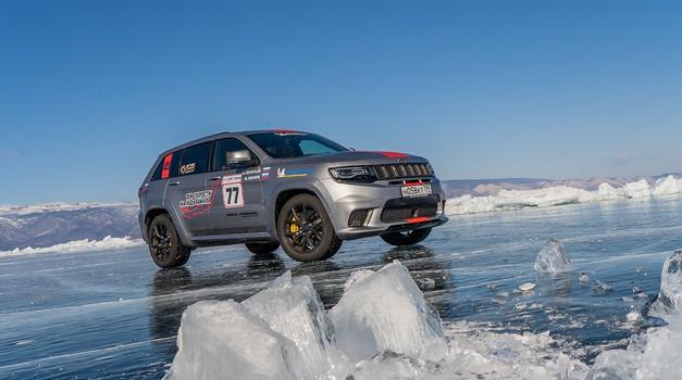 Video: Jeep Grand Cherokee novi rekorder na en kilometer (foto: FCA)