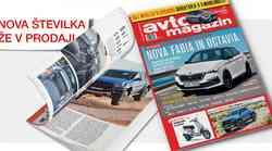 Izšel je novi Avto magazin! Testi: BMW X5, Fiat 500X, Hyundai i20, Mercedes-Benz razred B