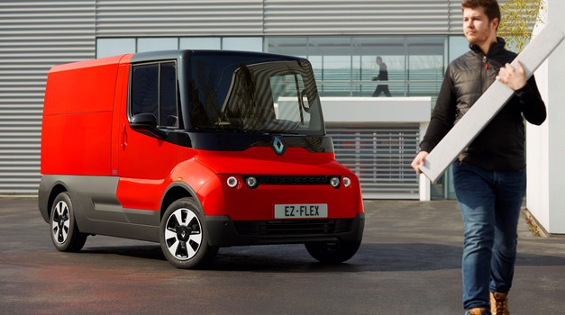 Renault bo prve EZ-Flexe namenil francoski pošti (foto: Renault)