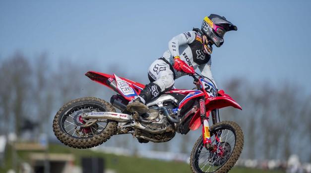 MXGP: Tim Gajser blestel na Portugalskem (foto: Honda)
