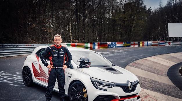 Renault Megane R.S. Trophy-R je novi rekorder Nürburgringa, tudi s pomočjo slovenskega znanja (foto: Renault)