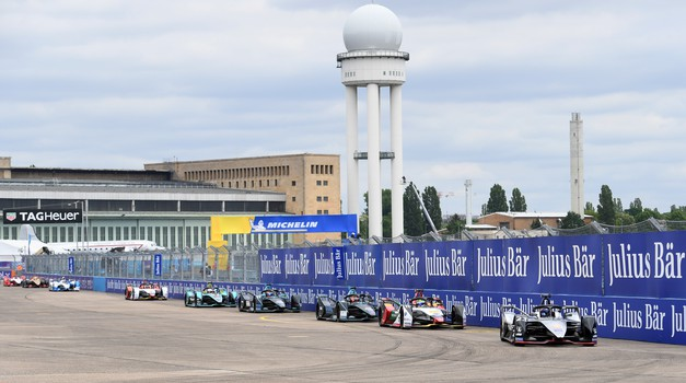 Formula E: Lucas di Grassi dominanten na nekdanjem letališču Tempelhof (foto: FIA)