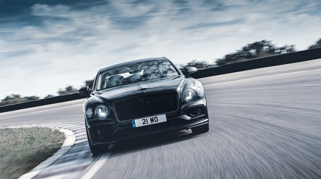 Video: novi Bentley Flying Spur razkrit - a ne še popolnoma (foto: Bentley)