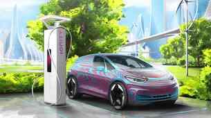 Volkswagen v izgradnjo kar 36.000 električnih polnilnic