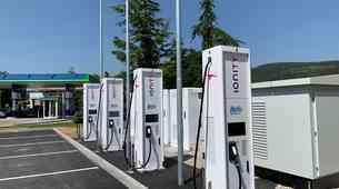 V Sloveniji smo dobili prvo najhitrejšo polnilnico za električne avtomobile