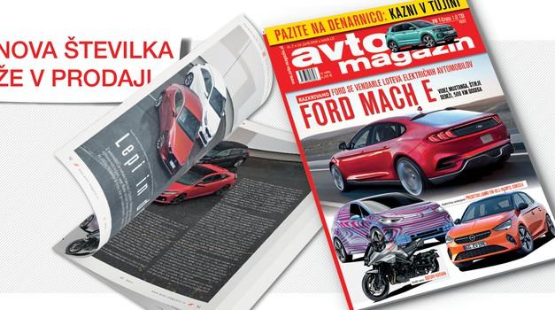Izšel je novi Avto magazin! Testi: BMW serije 8, Cupra Ateca, Toyota Supra (foto: Arhiv AM)