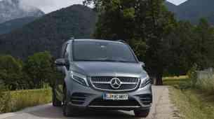 Novo v Sloveniji: Mercedes-Benz razreda V