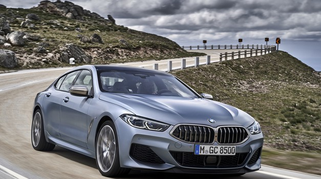 BMW serije 8 prvič kot Gran Coupe (foto: BMW)
