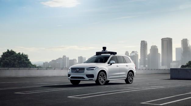Uberjev samovozeči Volvo pripravljen na proizvodnjo (foto: Volvo)