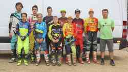 Motokros: slovenska izbrana vrsta mladincev pripravljena na svetovno prvenstvo