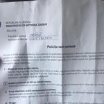 Policija na (p)oseben način opozarja na nepridiprave na javnih parkiriščih (foto: Služba za varstvo pred snežnimi plazovi Zelenica - Tržič)