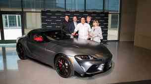 Prva Toyota Supra prodana za 2,1 milijona dolarjev