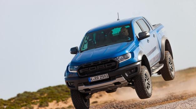 Vozili smo: Ford Ranger Raptor - Dol s ceste! (foto: Saša Kapetanovič)