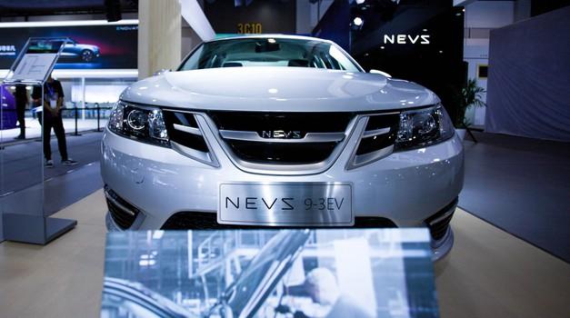 NEVS zagnal proizvodnjo električnega 'Saab-a 9-3 (foto: NEVS)