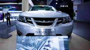 NEVS zagnal proizvodnjo električnega 'Saab-a 9-3