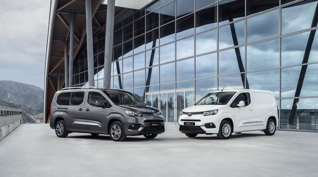 Toyota širi elektrifikacijo tudi na dostavna vozila (foto: Toyota)
