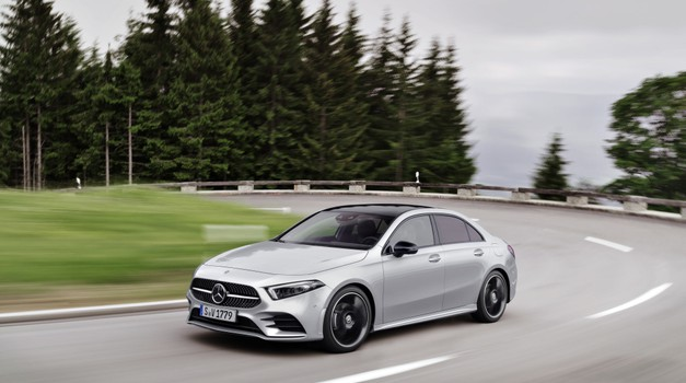 Novo v Sloveniji - Mercedes-Benz razred A limuzina, GLC in GLC Coupe (foto: Daimler AG)