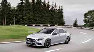 Novo v Sloveniji - Mercedes-Benz razred A limuzina, GLC in GLC Coupe