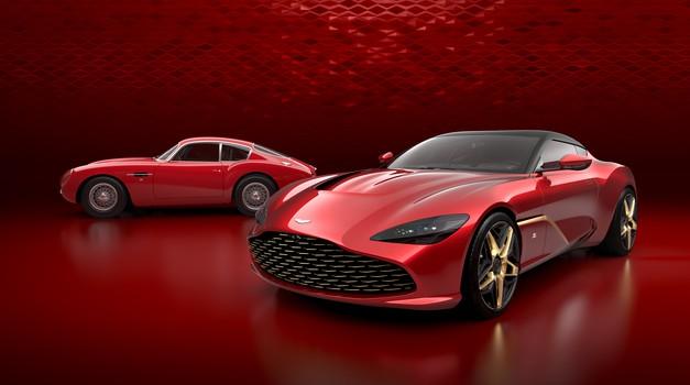 Aston Martin pripravlja milijonski par vozil z Zagatovim podpisom (foto: Aston Martin)