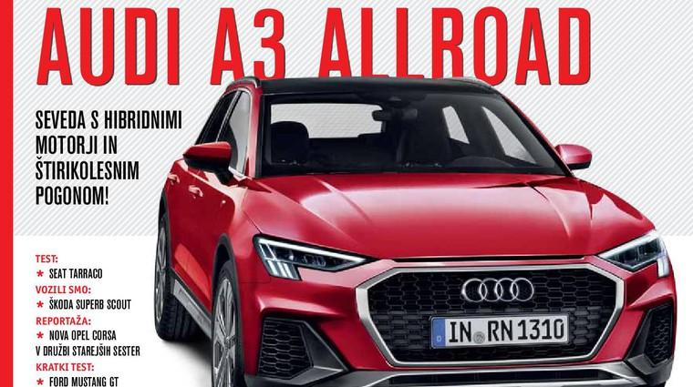 Izšel je novi Avto magazin! Testi: Toyota Corolla TS hibrid, Ford Focus Active, Seat Tarraco, Audi A4 (foto: Avto magazin, proizvajalci)