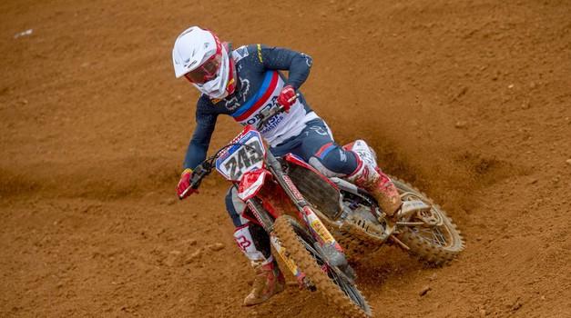 MXGP: Febvre prekinil Gajserjev niz zmag (foto: Honda)