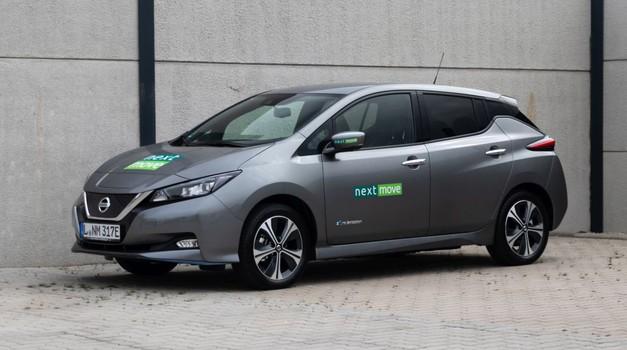 Nissan Leaf e+ kljub nadgradnji neprimeren za dolge poti (foto: Nextmove)