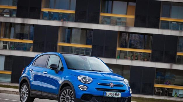 Fiat 500X 1.0 T3 SGE Urban - Drugačen in urban (foto: Saša Kapetanovič)