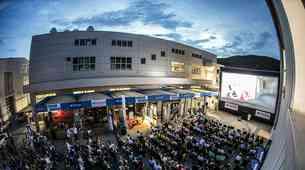 Center mobilnosti Špan še pred premiero gostil nov spektakel serije Hitri in drzni
