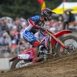 MXGP: Dve drugi mesti in skupna zmaga za Gajserja v neugodni Belgiji (foto: Honda, Husqvarna)