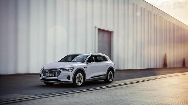 Audi e-tron kmalu tudi v cenejši izvedbi (foto: Audi)