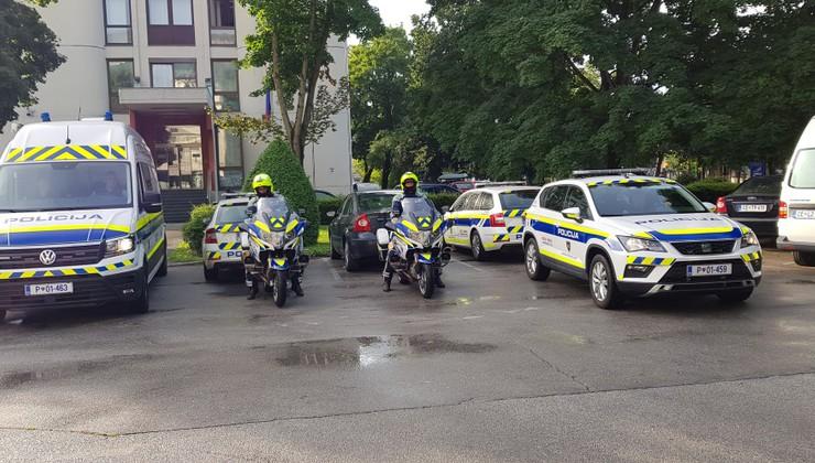 Slovenski policisti gosti dirke Moto GP v Brnu