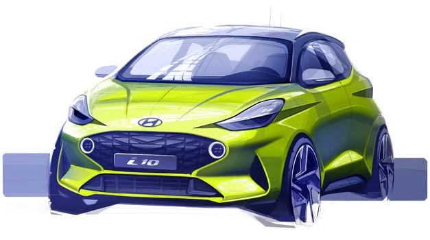 Hyundai predstavlja prve skice novega i10 (foto: Hyundai)