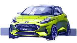 Hyundai predstavlja prve skice novega i10