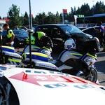 Na Lomu s policisti, gasilci, reševalci in AVP o reševalnem pasu (foto: Jure Šujica)