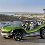 Volkswagen ID. Buggy kot domač na plažah Monterey-ja (foto: Volkswagen)